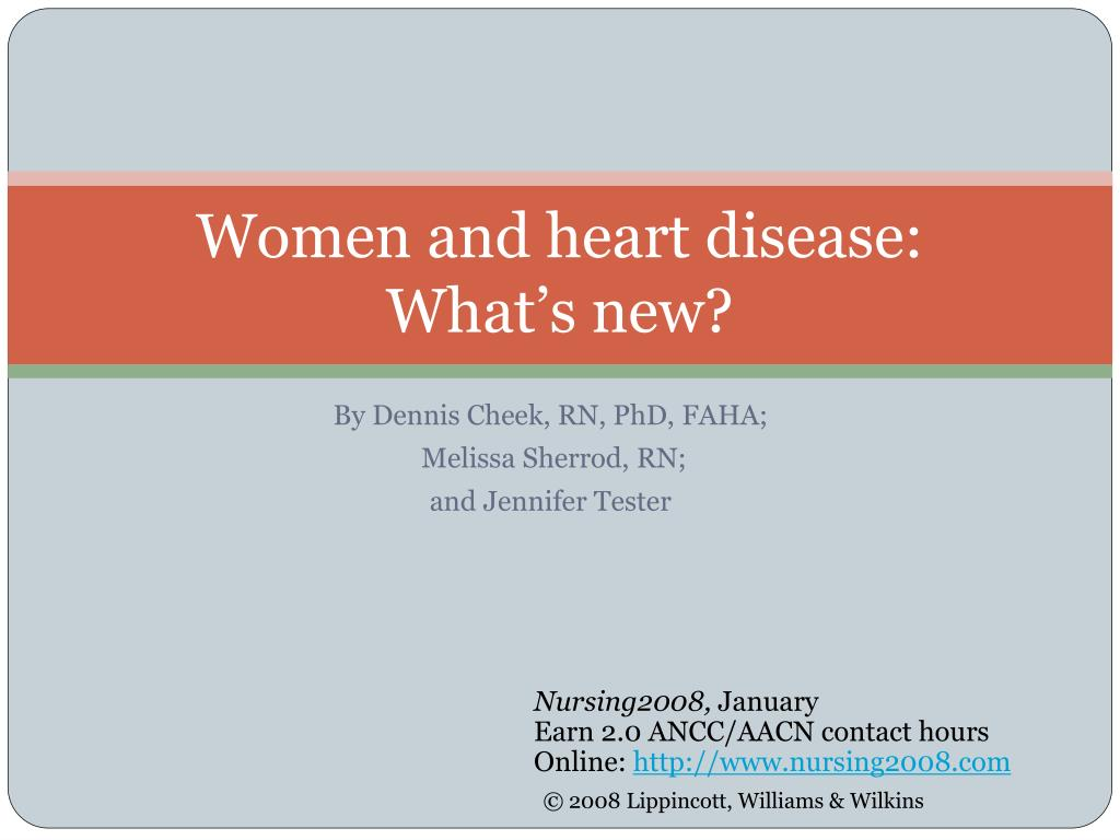 women and heart disease what s new