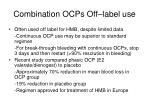 combination ocps off label use