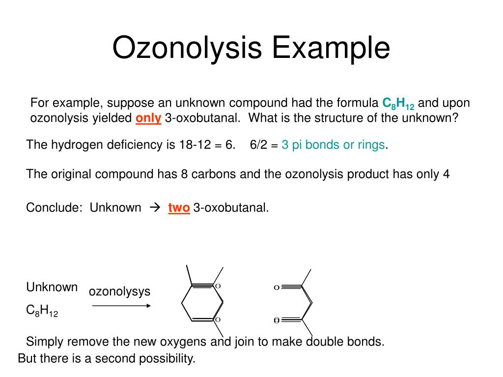 Ozonolysis Example