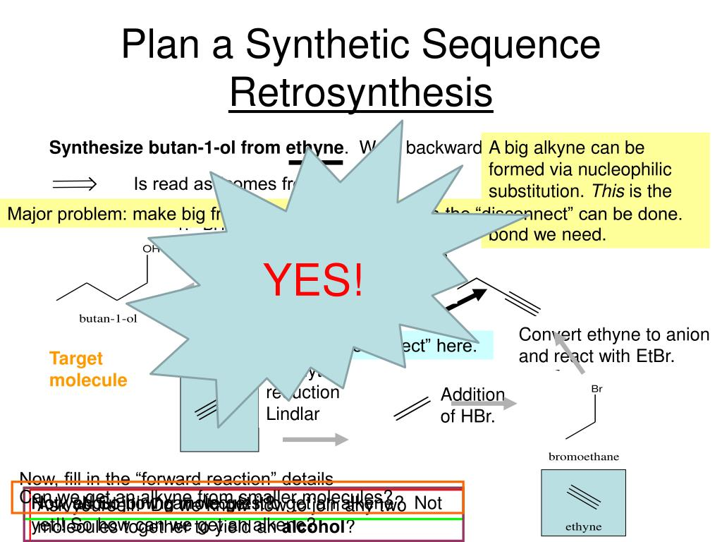 Plan a Synthetic Sequence