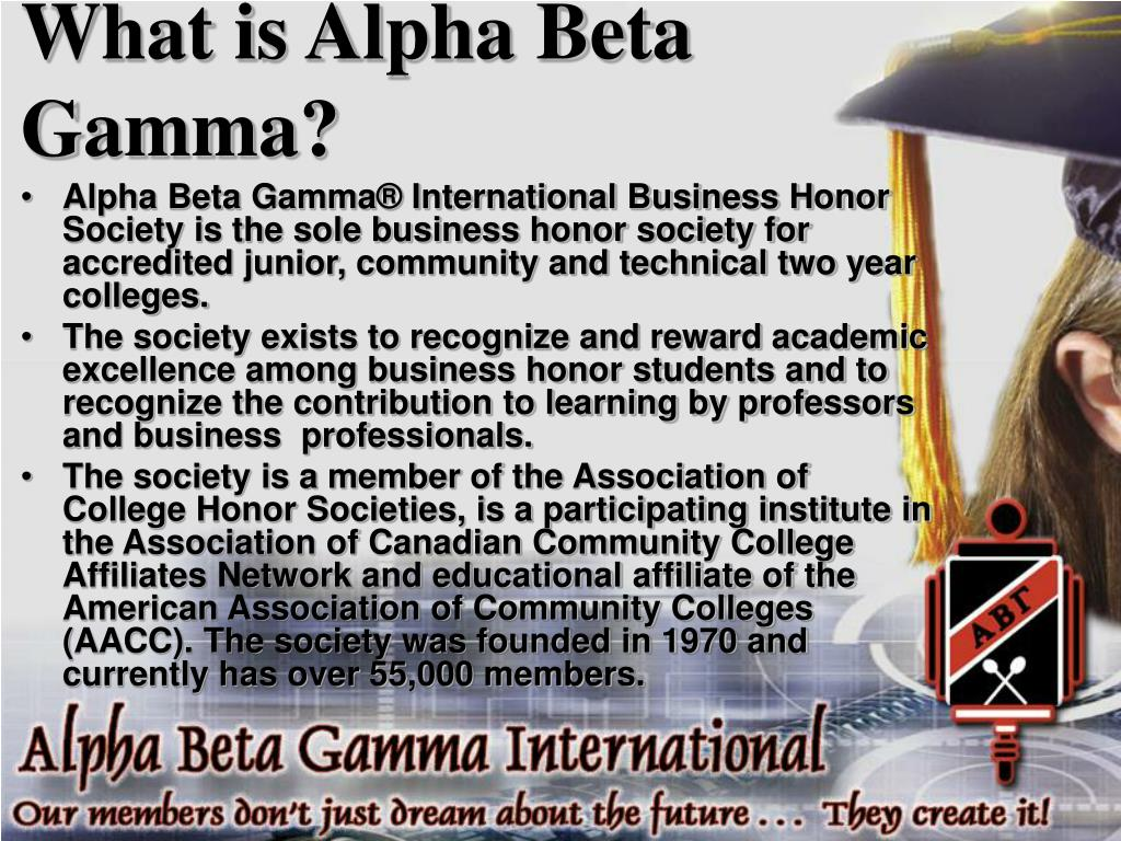 What is Alpha Beta Gamma?