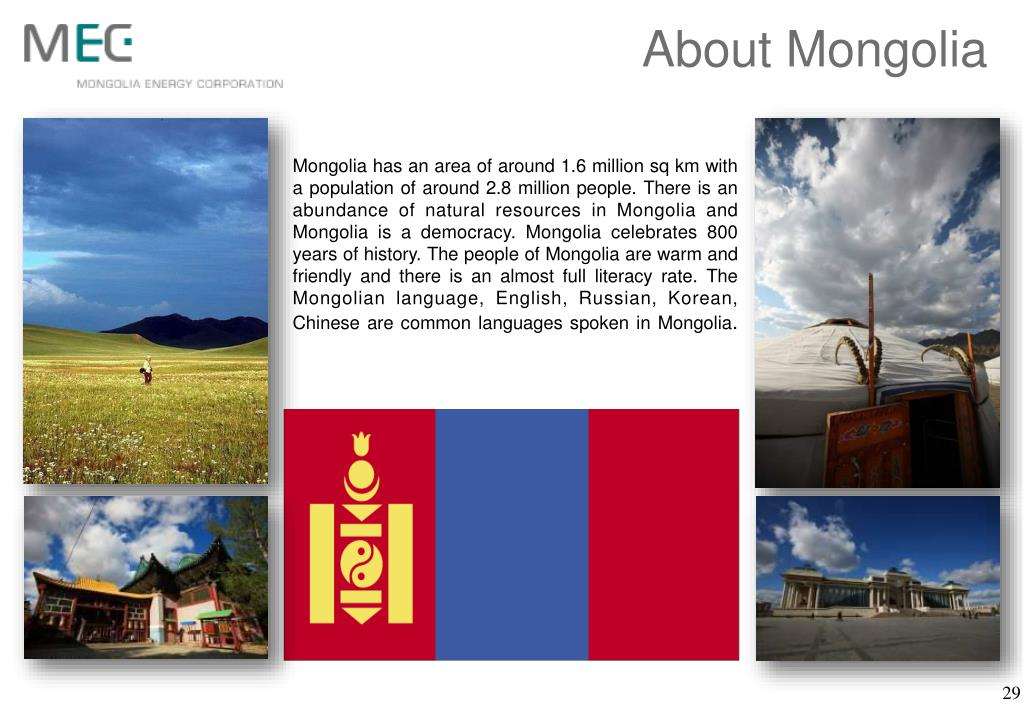 About Mongolia