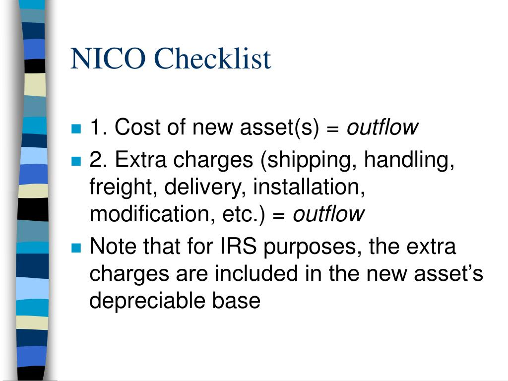 NICO Checklist