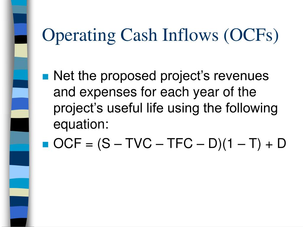 Operating Cash Inflows (OCFs)