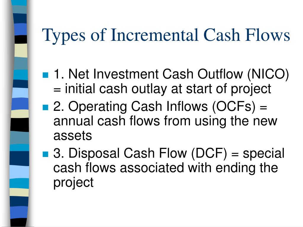 Types of Incremental Cash Flows