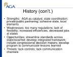 history con t