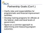 partnership goals con t9