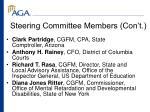 steering committee members con t27
