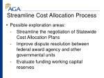 streamline cost allocation process15