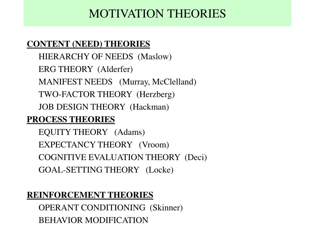 hierarchy of human needs and goal setting theory Application of maslow's hierarchy needs and theory to education uploaded by nida demir  application of maslow's hierarchy needs and theory to education uploaded by nida demir 1 application of maslow's hierarchy needs to education table of contents 1  the study of the self, motivation, and goal-setting are areas of special.