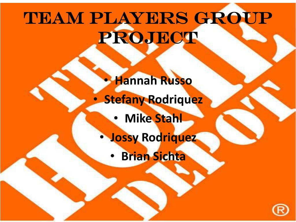 team players group project