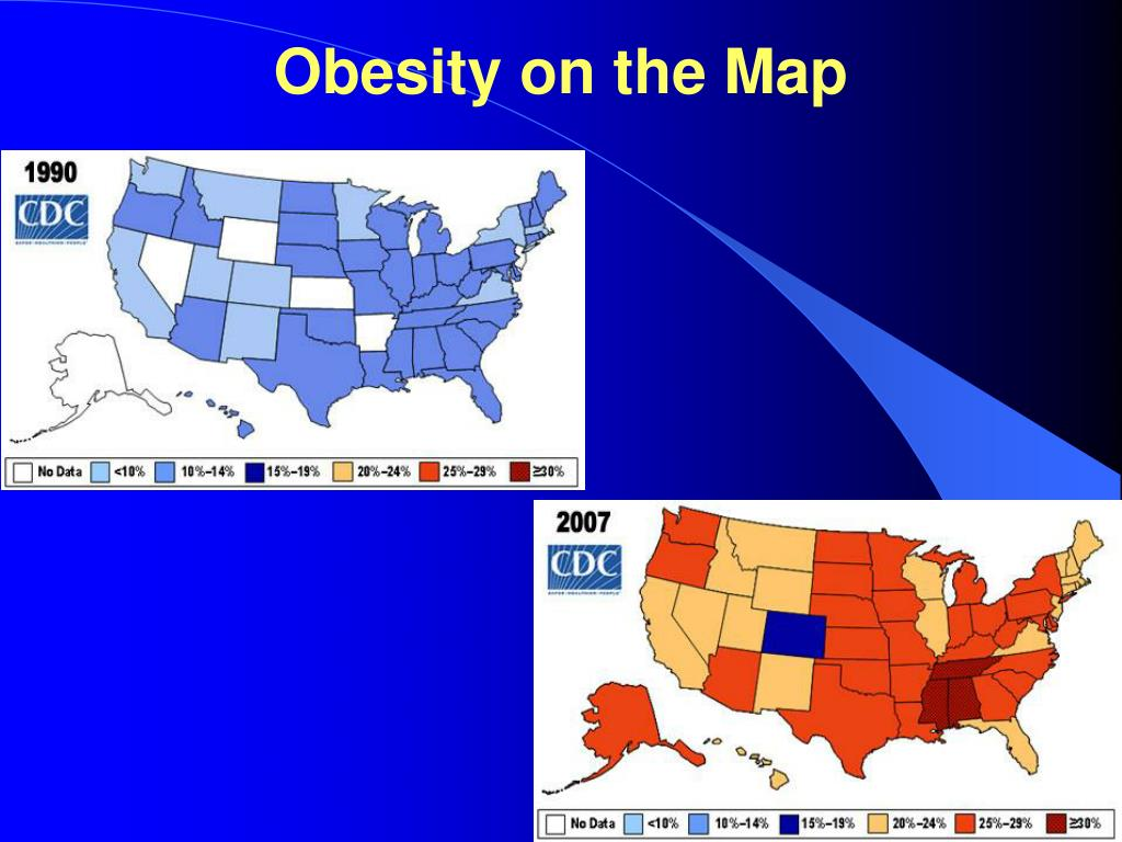 Obesity on the Map
