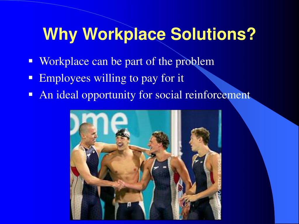Why Workplace Solutions?