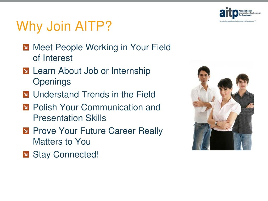 Why Join AITP?