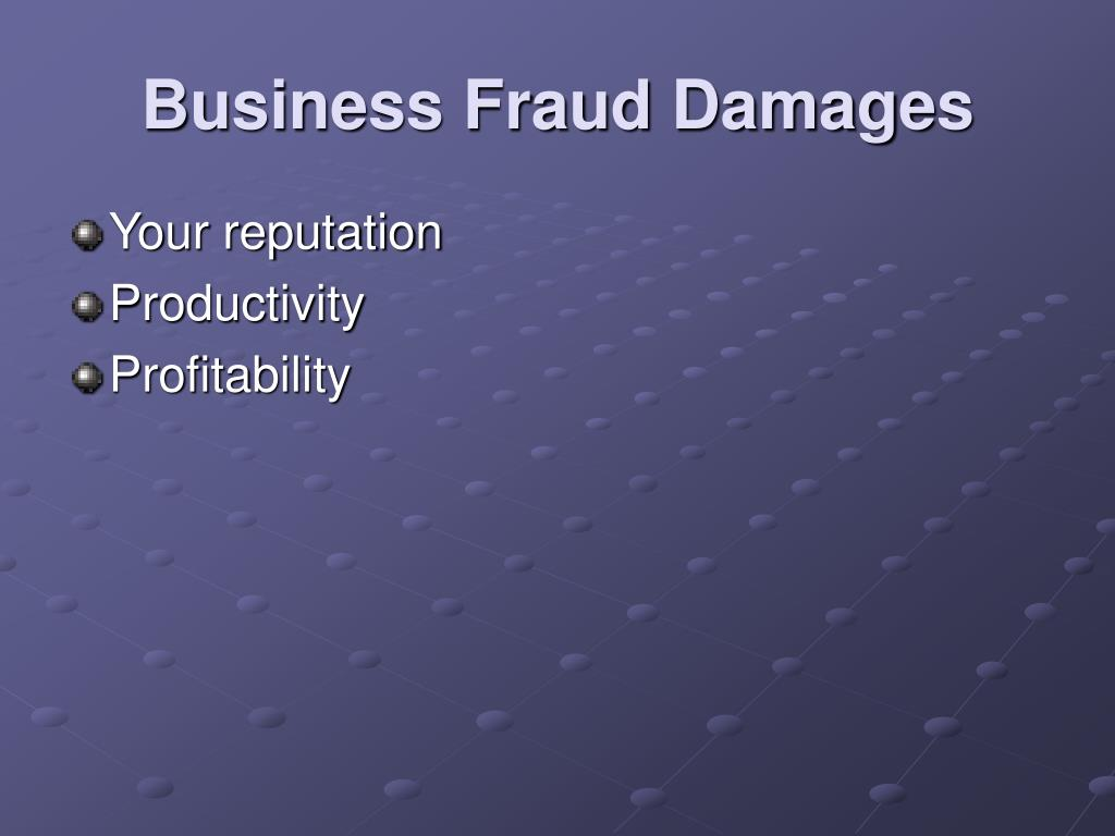 ppt electronic fraud techniques methodologies and