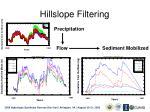 hillslope filtering