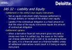ias 32 liability and equity11
