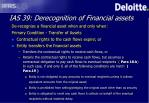 ias 39 derecognition of financial assets