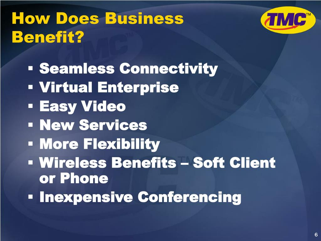 How Does Business Benefit?