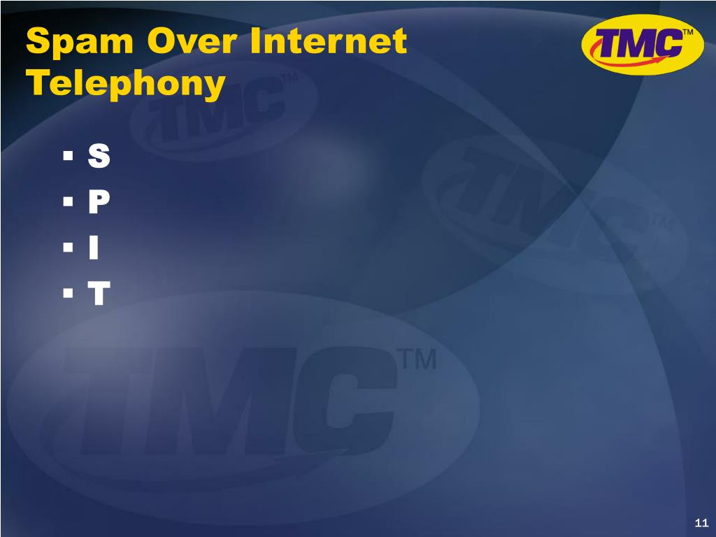 Spam Over Internet Telephony