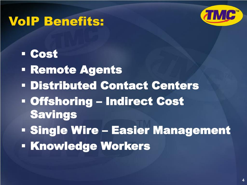 VoIP Benefits:
