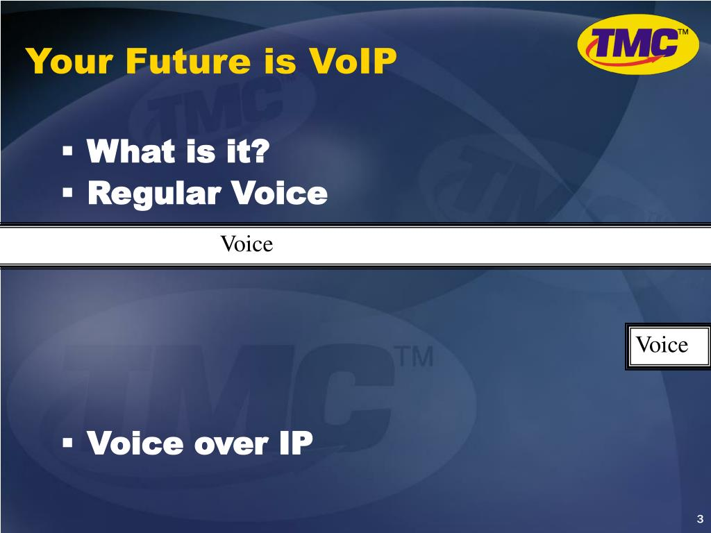 Your Future is VoIP