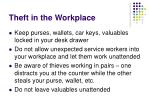 theft in the workplace28