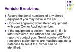 vehicle break ins31
