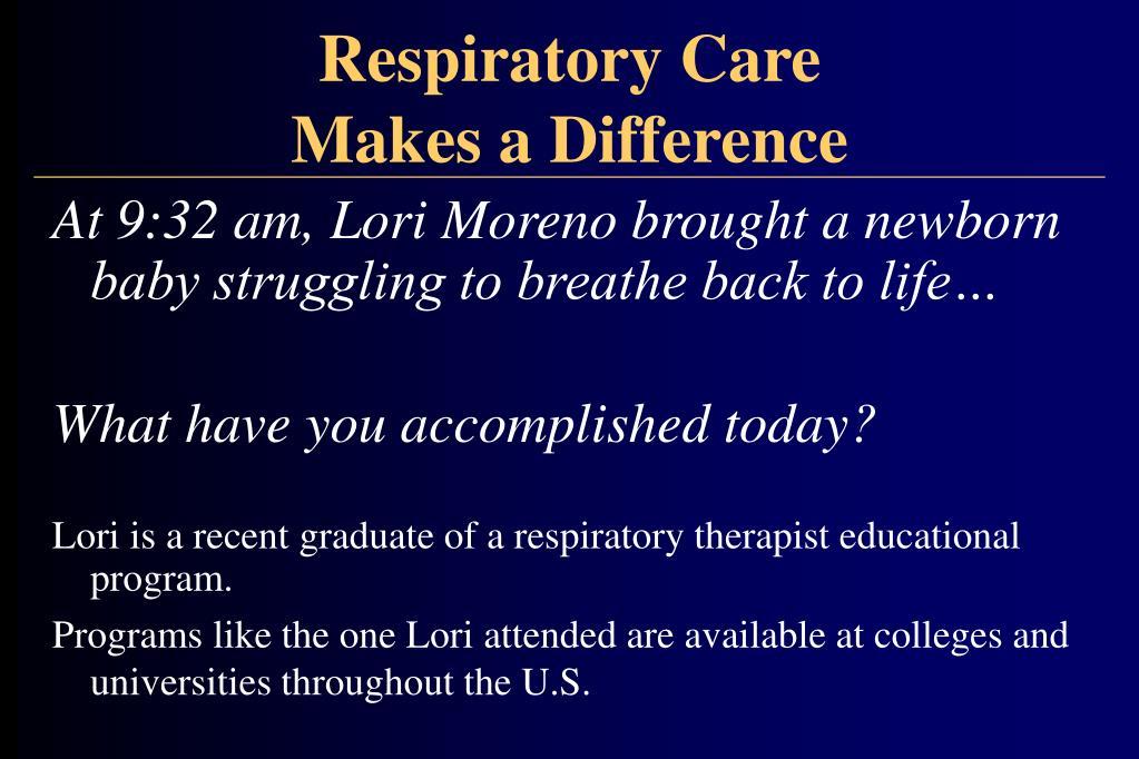 Respiratory Care