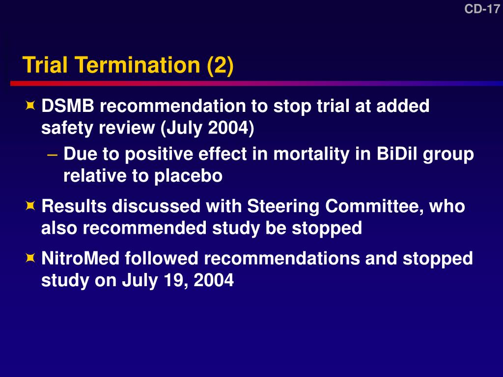 Trial Termination (2)