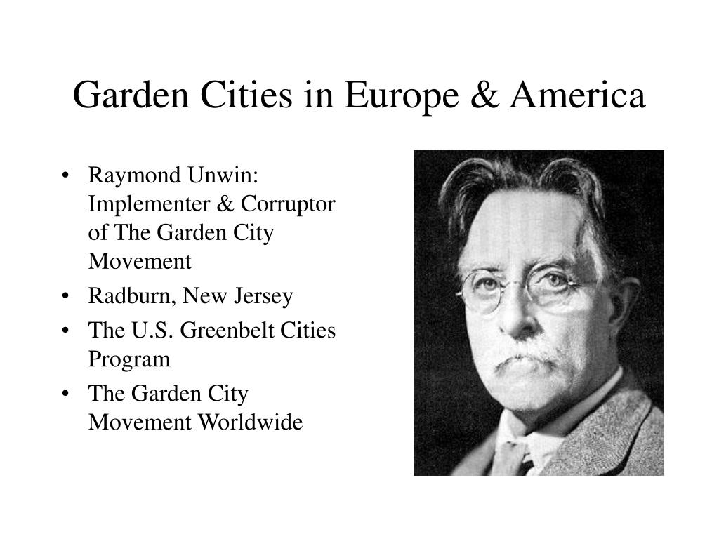 Garden Cities in Europe & America