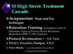 10 high street treatment cascade