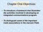 chapter one objectives3