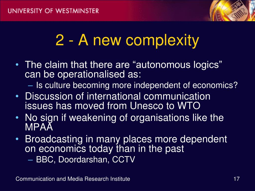 2 - A new complexity