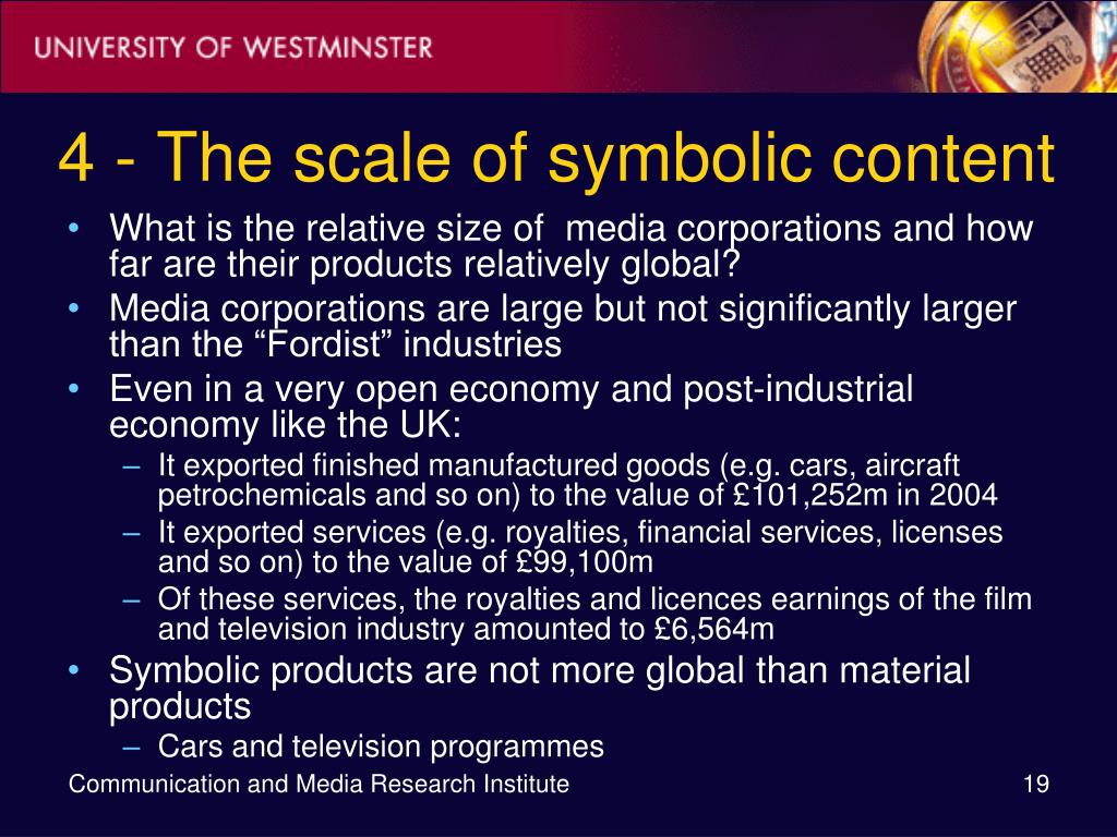 4 - The scale of symbolic content