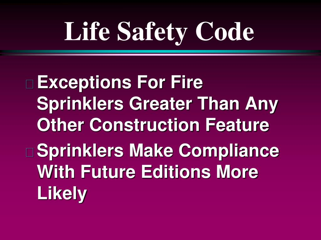 Life Safety Code