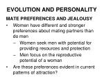 evolution and personality16
