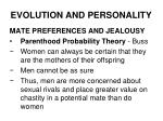 evolution and personality17