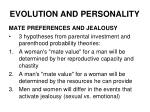 evolution and personality18