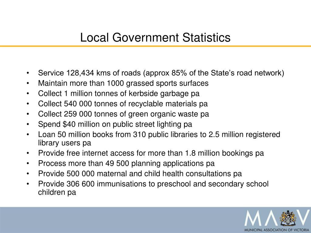 Local Government Statistics
