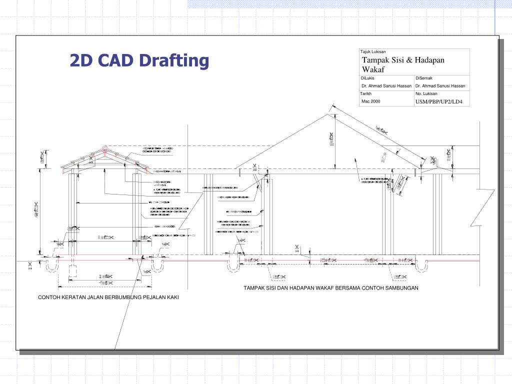 2D CAD Drafting
