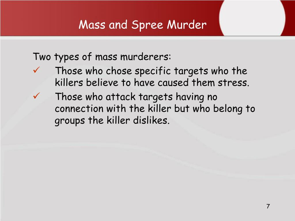 types of murderers Scientists have identified six types of facebook murderers visit crime feed to learn more.