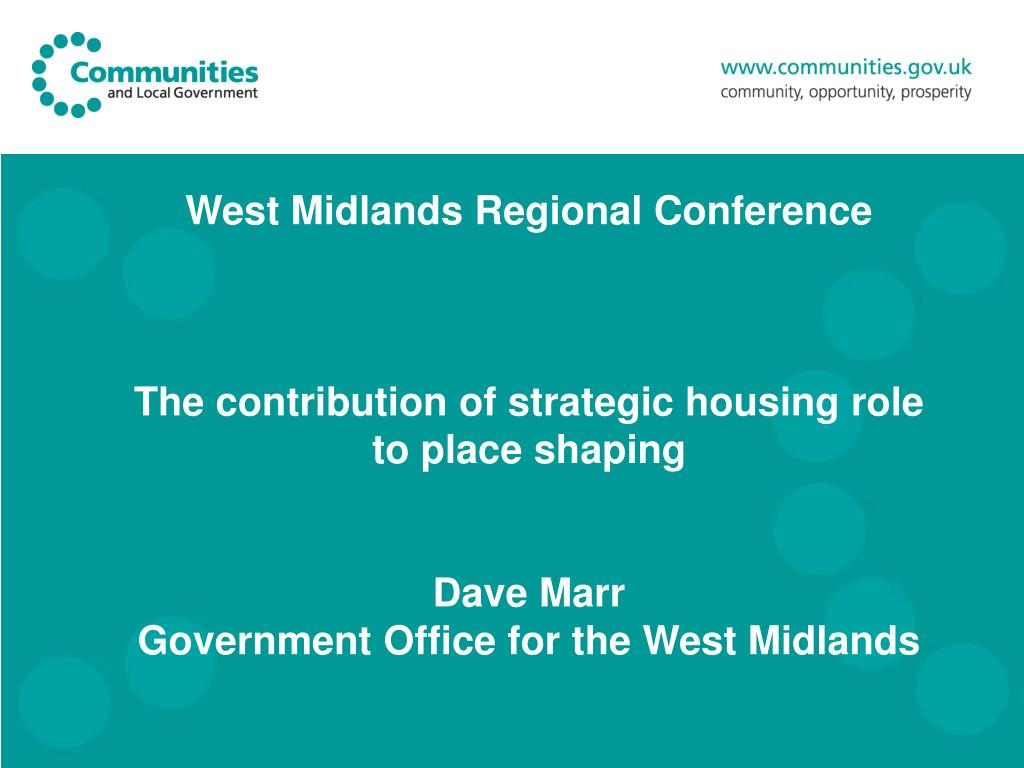 West Midlands Regional Conference