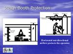 weigh booth protection