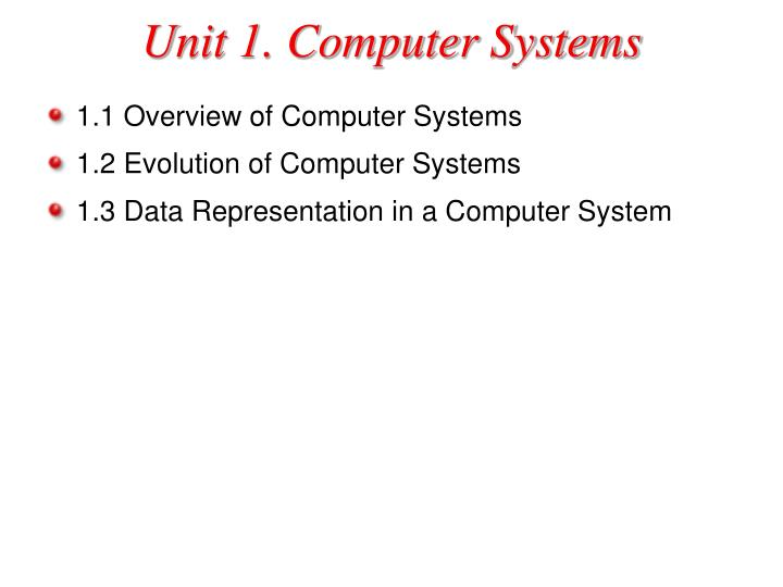 Unit 1 computer systems l.jpg