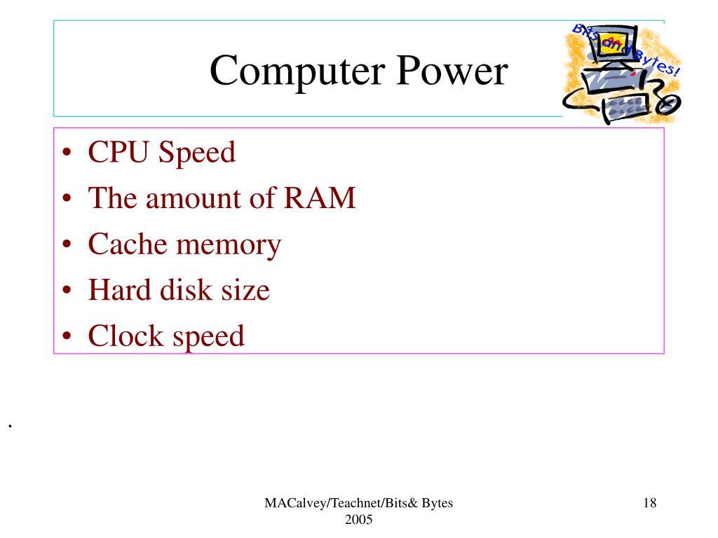 Computer Power