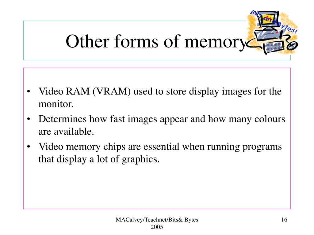 Other forms of memory