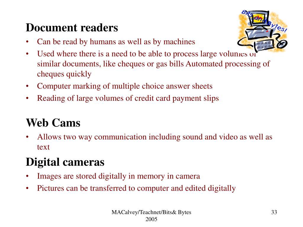 Document readers