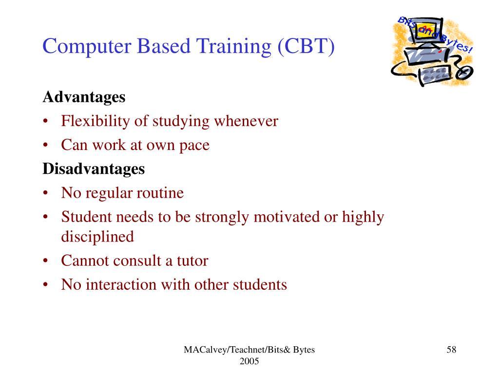 Computer Based Training (CBT)