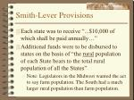 smith lever provisions10